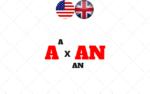 A e AN no Inglês: usos e diferença