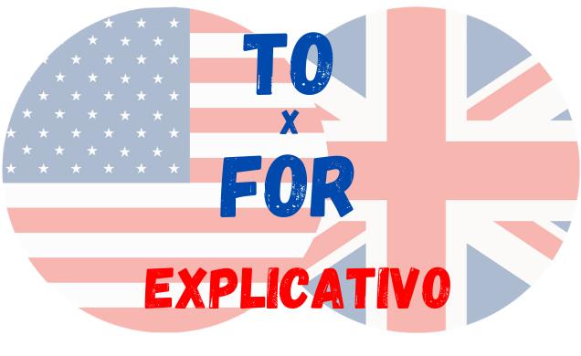 inglês to for diferença