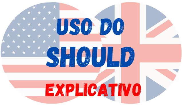 inglês uso do should