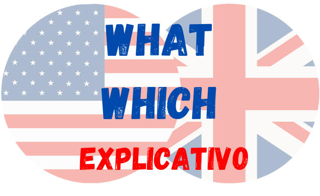 inglês uso what which