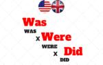 Quando usar WAS, WERE e DID? Diferença