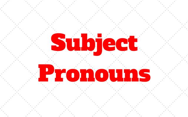 Subject Pronouns: Quando e como usar no Ingles com Exercícios