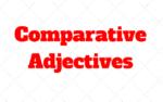 Comparative Adjectives: Explicaçao e Exemplos de como usar