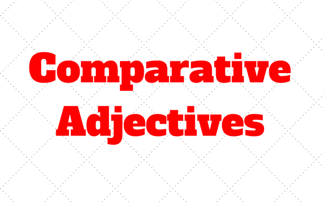 comparative-adjectives
