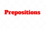 Prepositions: Explicaçao sobre preposiçoes no estudo do Ingles