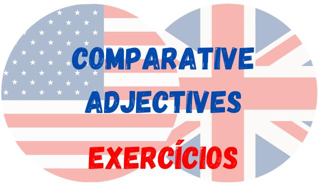 inglês comparative adjective