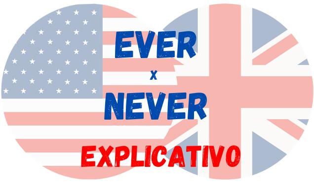 inglês ever never