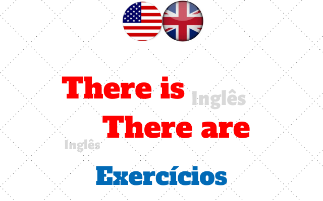 inglês there is there are exercícios