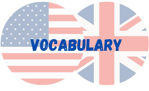 inglês vocabulary