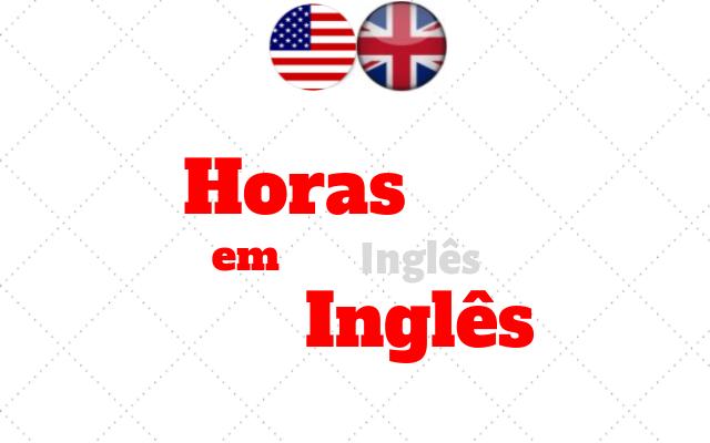 inglês horas
