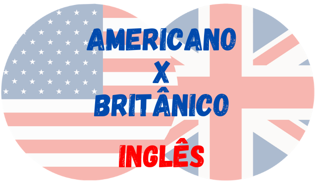inglês americano britânico
