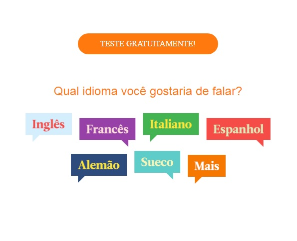 curso de idiomas espanhol