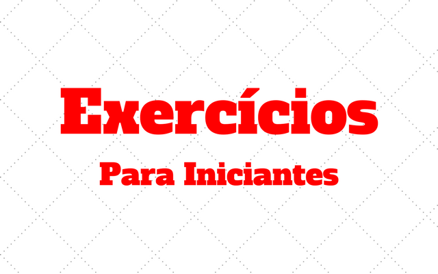 exercicios para iniciantes
