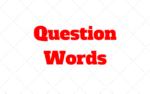 Exercícios com Question Words: Teste o que voce sabe!
