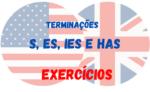 Terminações S, ES, IES e HAS – Atividades