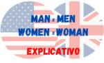 Quando usar Man e Men | Women e Woman em Inglês