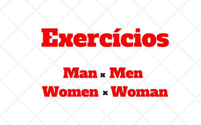 men man women woman exercicios
