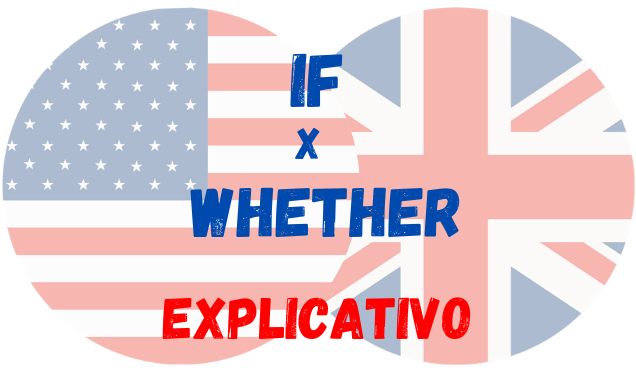 inglês if whether