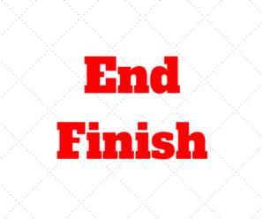 FINAL em inglês: FINISH ou END? Aprenda os Usos