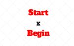 Start ou Begin? Começar e Iniciar em inglês