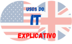 Usos do IT em Inglês
