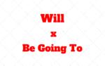 WILL ou BE GOING TO? Futuro em inglês