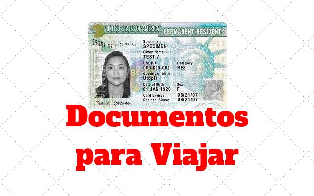 documentos viajar