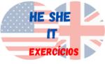He She e It – Atividades