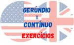 Gerúndio x Contínuo Exercícios