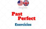 Past Perfect Exercícios