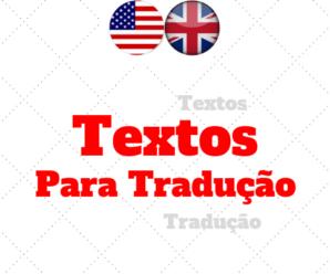Textos para Tradução