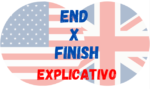 Usos de FINISH e END