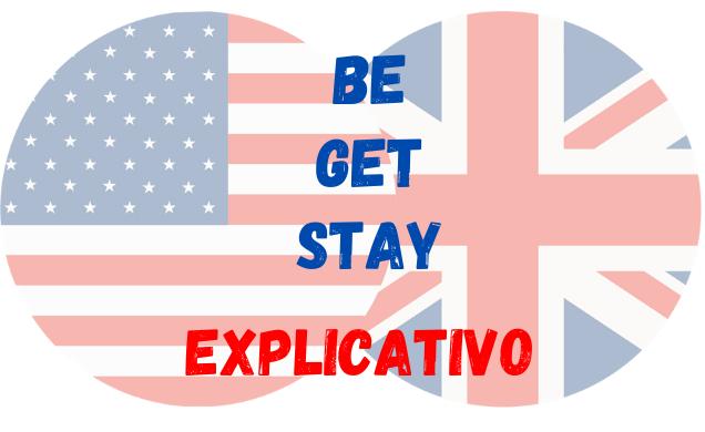 inglês stay get be