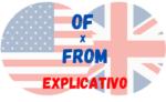 Usos de OF e FROM no Inglês
