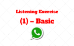 Listening and Pronunciation Exercise (1) – Basic