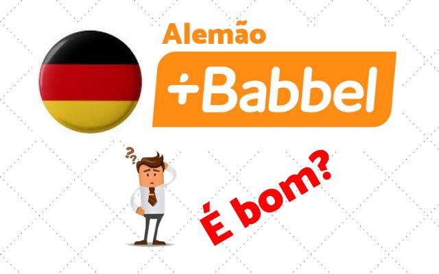 babbel curso alemão bom