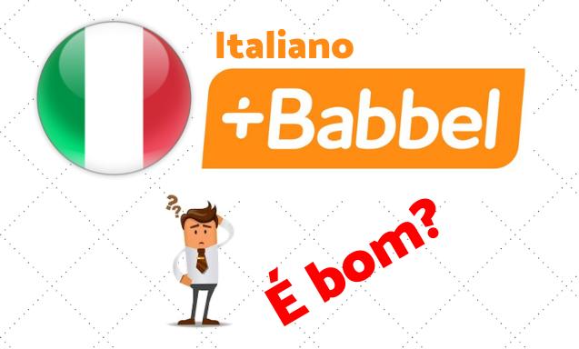 babbel italiano bom