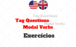 Inglês Tag Questions Exercícios