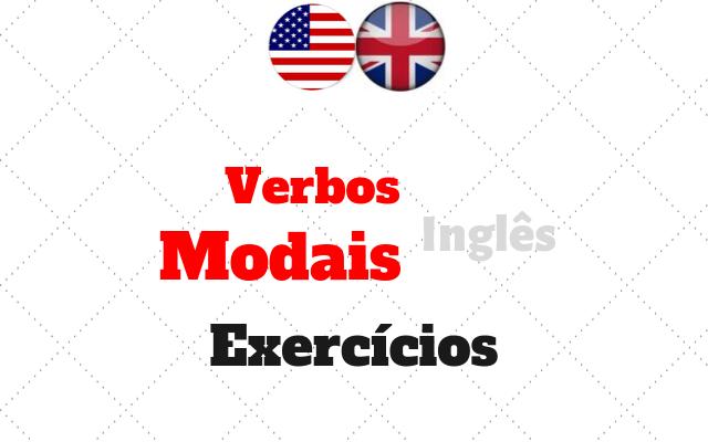 ingles verbos modais exercícios