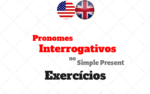Pronomes Interrogativos no Simple Present Atividades