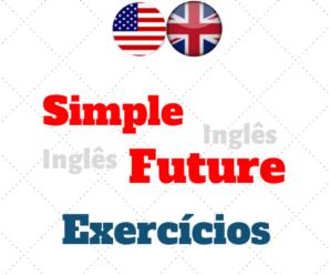 Simple Future Exercícios