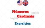 Números Cardinais – Exercícios