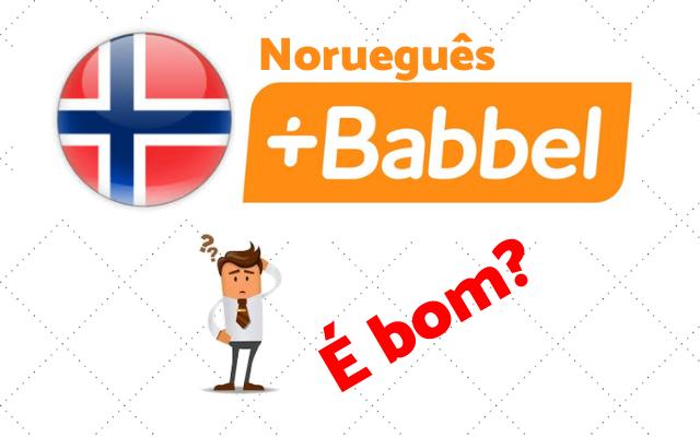babbel norueguês curso