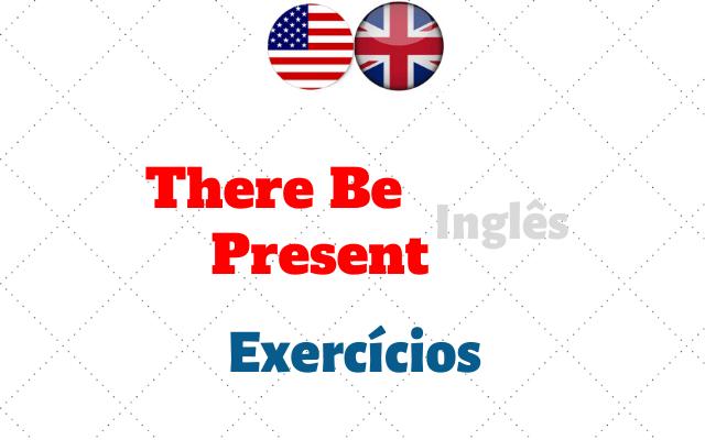 inglês there be present exercícios