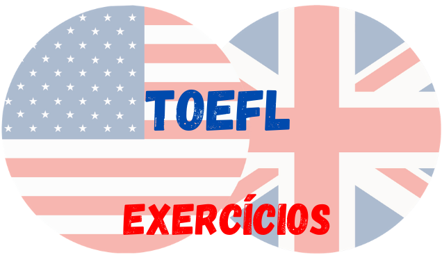 inglês TOEFL atividades