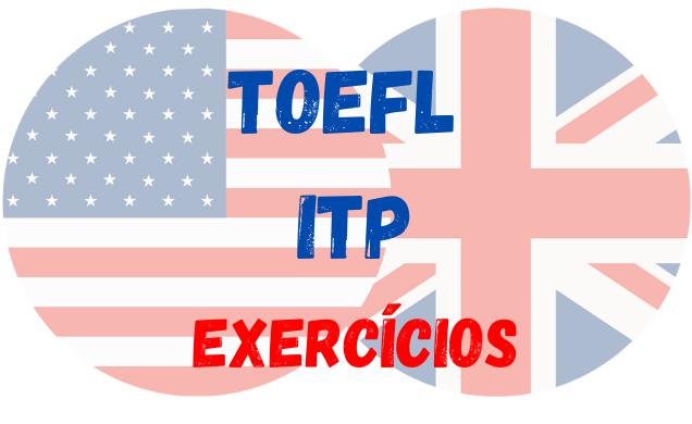 ingles TOEFL iTP atividades